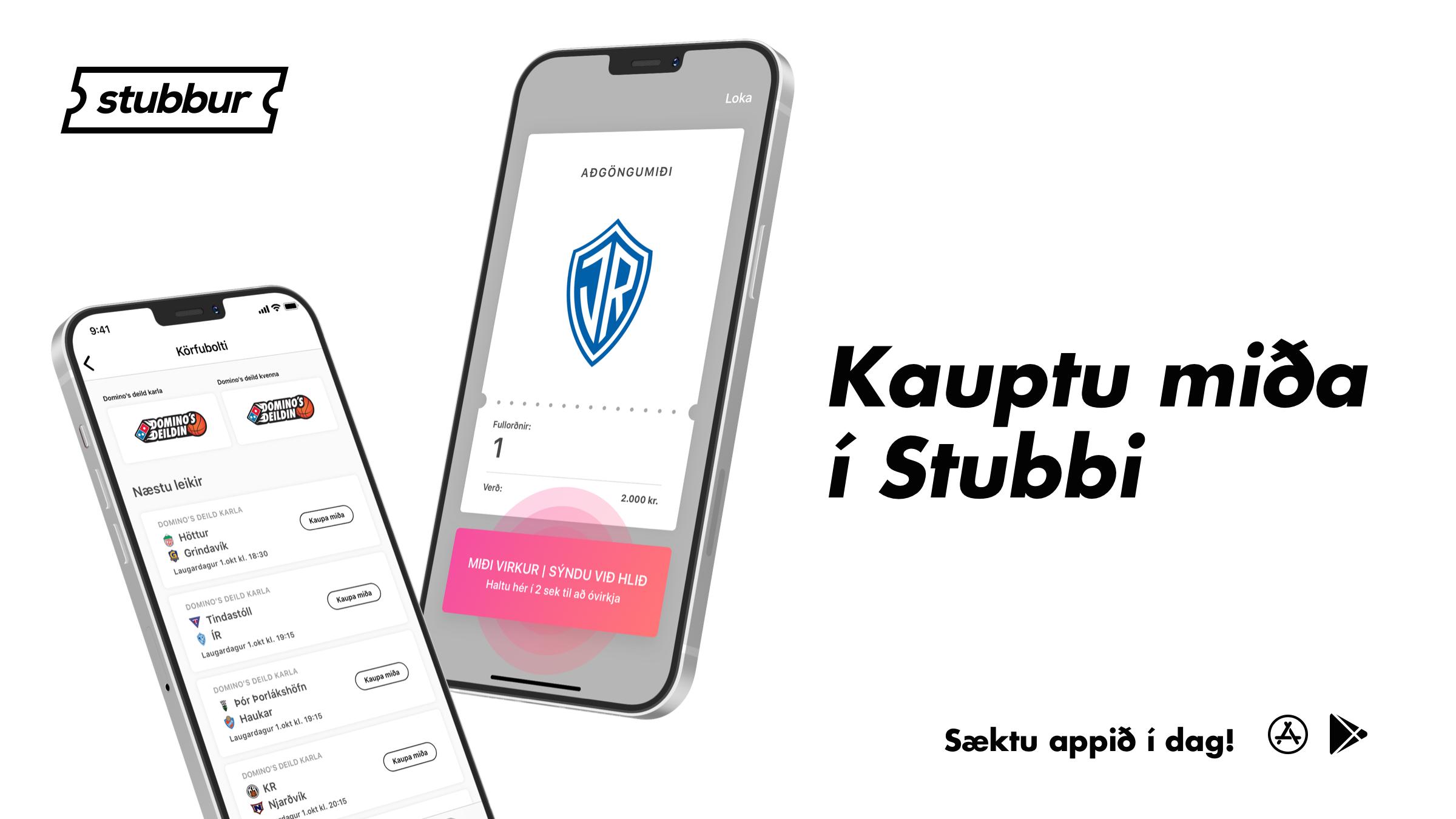 ÍR karfa og Stubbur